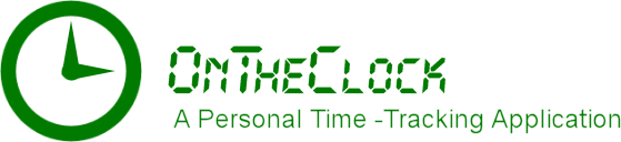 OnTheClock time-tracking app